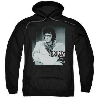 Elvis/Good To Be Mens Pullover Hoodie