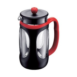 Bodum 10096-364US4 Red Black Young French Press Coffee Maker