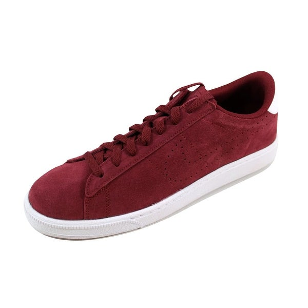 Nike Men's Tennis Classic CS Suede Team Red/Team Red-White829351-601