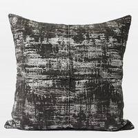 "G Home Collection Luxury Brown Mix Color Metallic Chenille Pillow 22""X22"""