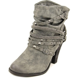 Not Rated Swazy Women Round Toe Synthetic Ankle Boot