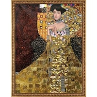 Gustav Klimt 'Portrait of Adele Bloch-Bauer I, 1907' (Luxury Line) Hand Painted Oil Reproduction