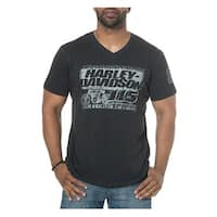 Harley-Davidson Men's 115th Anniversary Renaissance V-Neck Short Sleeve T-Shirt