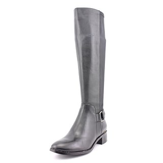Steve Madden Ryperr   Round Toe Leather  Knee High Boot