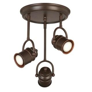 "Design House 578054 Sheridan 3 Light 12-1/2"" Wide LED Accent Light Ceiling Fixture"