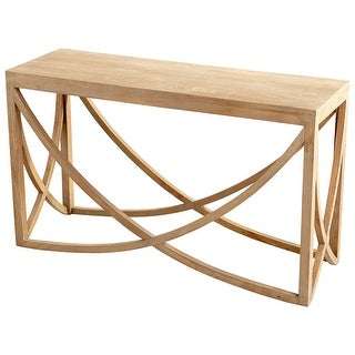 """Cyan Design 07019  Lancet 53"""" Long Wood Console Table - Light French Gray"""