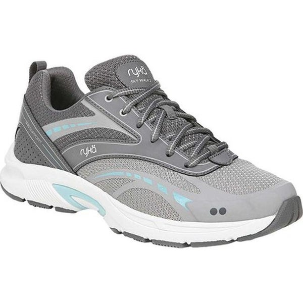 Shop Ryka Women's Sky Walk 2 Sneaker Scone Grey Leather