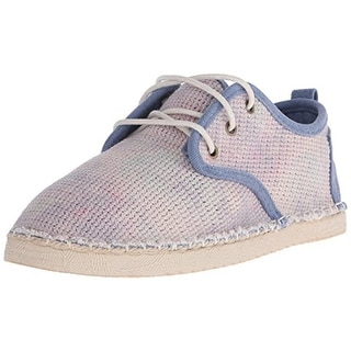 Coolway Womens Trebol Contrast Trim Flat Fashion Sneakers