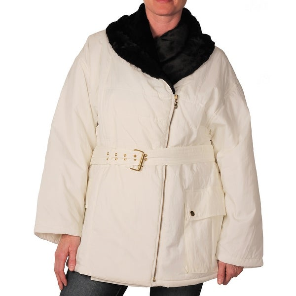 Outertown Belted Car Coat