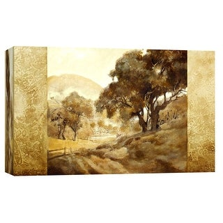 """PTM Images 9-102142  PTM Canvas Collection 8"""" x 10"""" - """"Beyond the Path"""" Giclee Forests and Mountains Art Print on Canvas"""