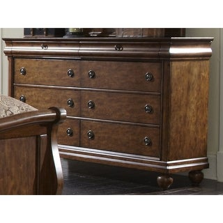 Link to Rustic Cherry Traditions 8-drawer Dresser Similar Items in Dressers & Chests
