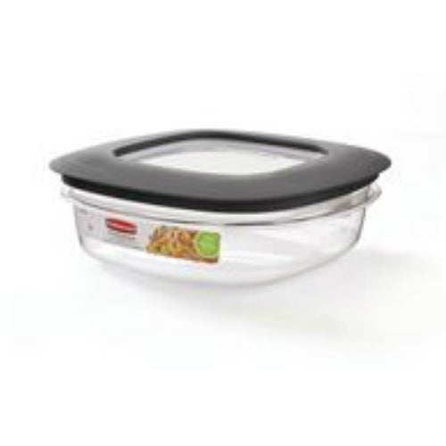 Rubbermaid 7H76-TR-CHILI Square Food Containers, 9 Cup