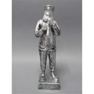 Shonfeld Crystal 15933 7 in. Figurine Polyresin Silver