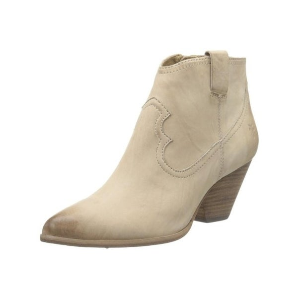 7482f3dac5f Shop Frye Womens Reina Booties Leather Heels - 8.5 Medium (B,M ...