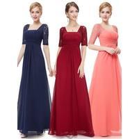 Ever-Pretty Women's Elegant Half Sleeve Evening Bridesmaid Dresses 08038