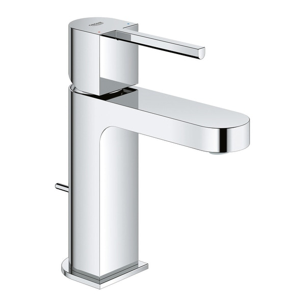 Grohe 33 170 3 Plus 1.2 GPM Single Hole Bathroom Faucet with SilkMove and EcoJoy Technology