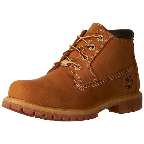 Timberland Womens Nellie NuBuck Round Toe Ankle Working Boots
