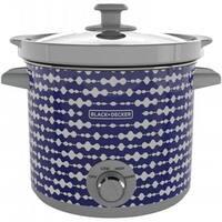 Applica SC2004D Slow Cooker, 4 Quart, Black Pulse