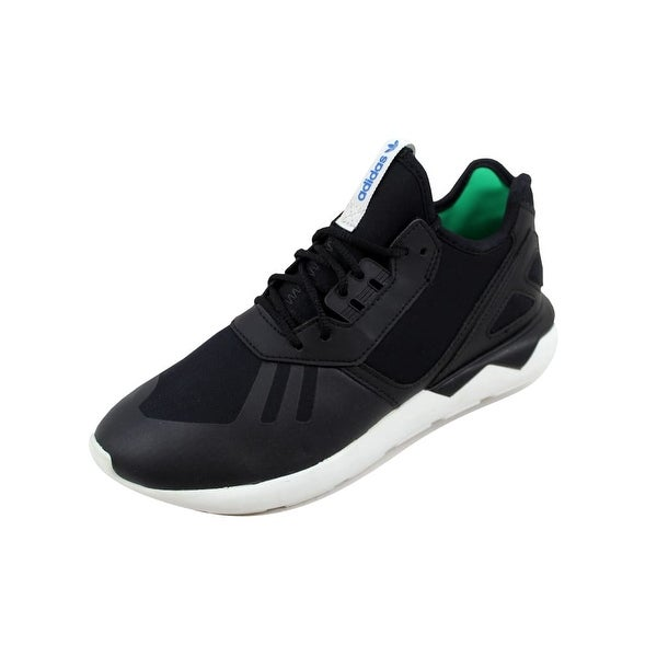 Adidas Women's Tubular Runner Black/Black-Green B23657