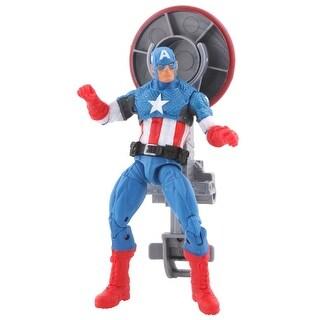 Avengers Assemble Shield Blast Captain America Action Figure