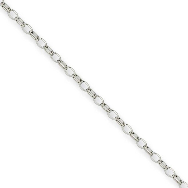 Chisel Stainless Steel 3.20mm 18 Inch Pendant Chain (3.2 mm) - 18 in