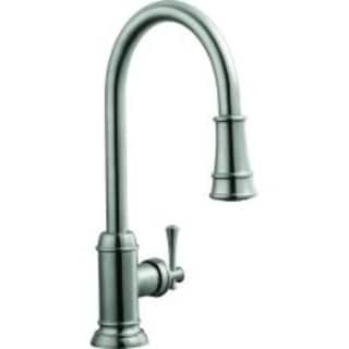 Design House 524702 Ironwood Kitchen Faucet, Satin Nickel