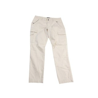 Lauren Ralph Lauren Natural Skinny Cotton Twill Cargo Pants 14