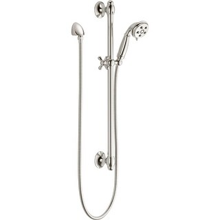 Delta 51308 Traditional Hand Shower Package with H2Okinetic Technology - Includes Hand Shower, Slide (5 options available)