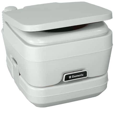 Dometic 964 portable toilet 2.5 gallon platinum