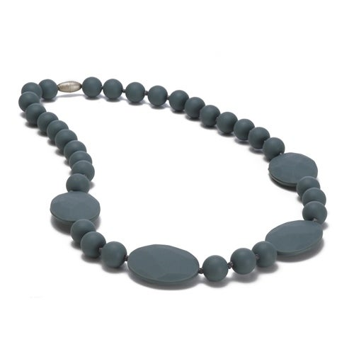 Chewbeads Perry Teething Necklace - Strom Grey Perry Teething Necklace
