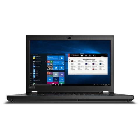"Lenovo ThinkPad P53 Workstation 15.6"" Touch 32GB 1TB X62.8GHz Win10,Black(Certified Refurbished) - Black"
