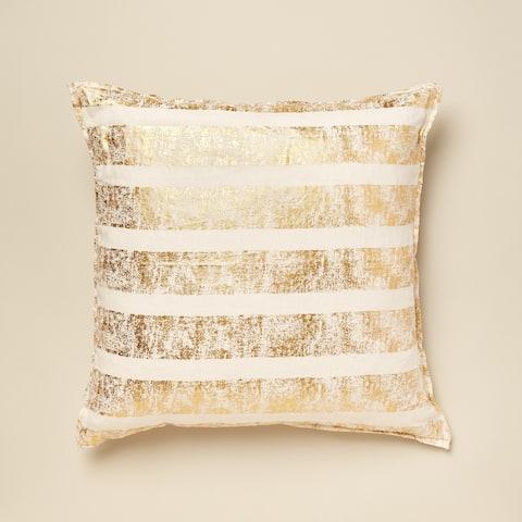Kelsey Metallic Accent Pillow