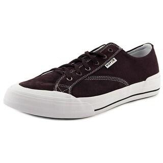 HUF Classic Lo Men  Round Toe Canvas Purple Skate Shoe