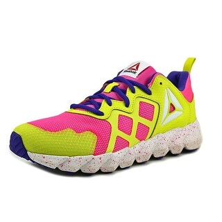 Reebok Exocage Girl Rose/Yellow/Purple/Wht Athletic Shoes
