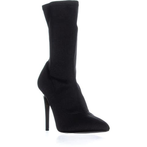 Call It Spring Hailassi Pointed Toe Pull On Boots, Black