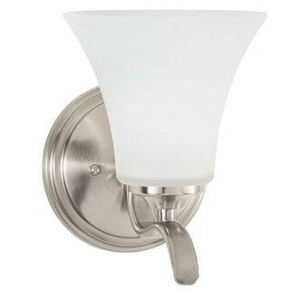 """Park Harbor PHVL2251 Columbus 8"""" Tall Single Light Bathroom Fixture"""