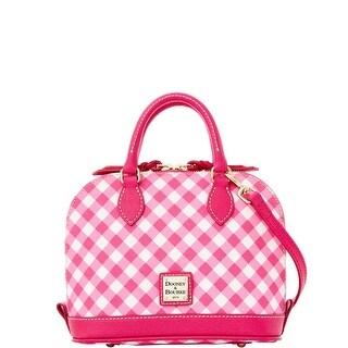 Dooney & Bourke Gingham Bitsy Bag (Introduced by Dooney & Bourke at $178 in Jan 2016) - Pink
