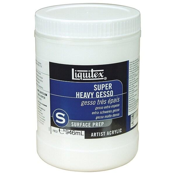 Liquitex - Super Heavy Body Gesso - Quart