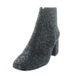 b214a848eb56 ASH Womens Electra Booties Glitter Block Heel