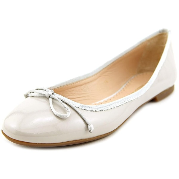 Sweet Ballerina Lera Round Toe Patent Leather Ballet Flats