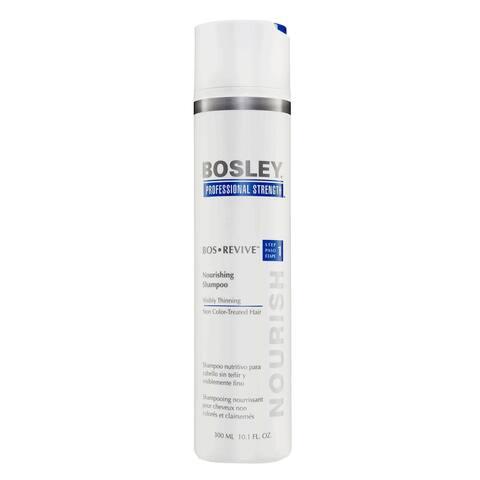 Bosley Professional Strength Step 1 Nourishing Shampoo, Non-color Treated Hair, 10.1 oz