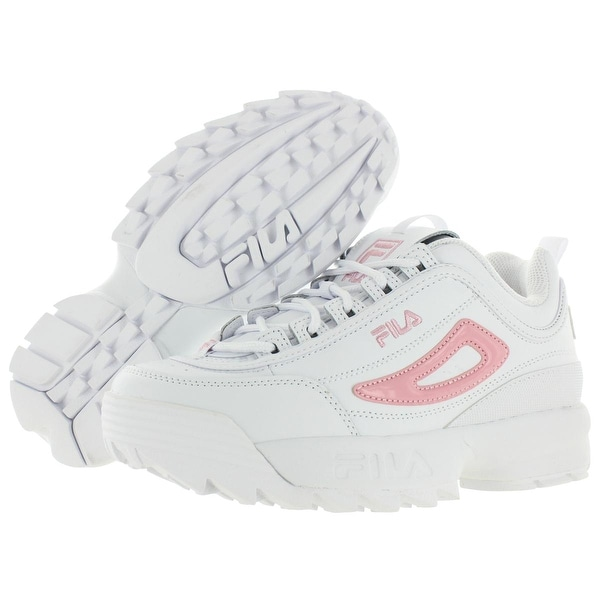 fila white leather trainers