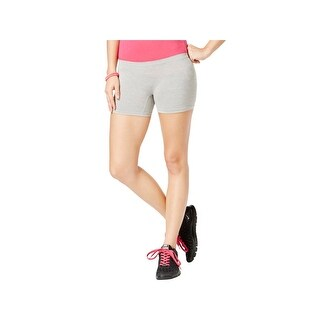 Material Girl Womens Juniors Shorts Stretch Space Dye - M