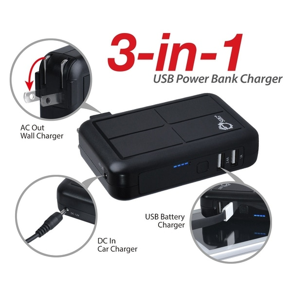 Siig, Inc. - Provides Triple Charging Solution (Wall Charger/Car Charger/Power Bank) To 2 Dev