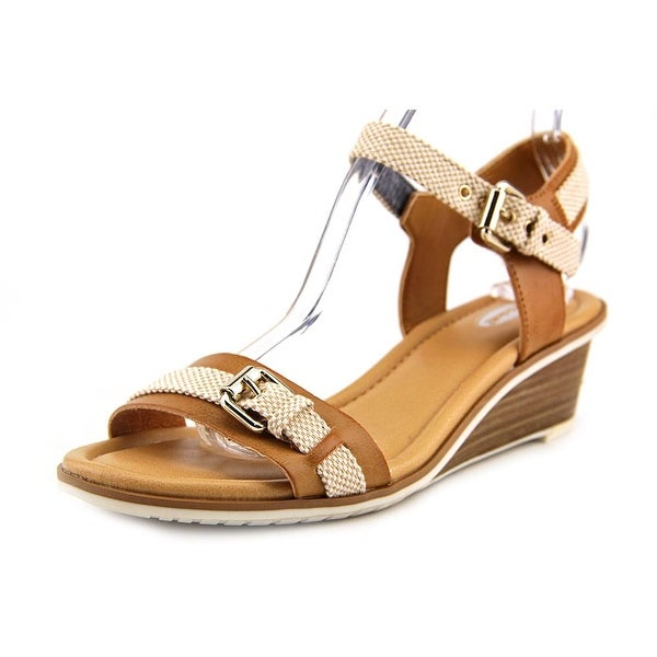 Dr. Scholl's Glendale Women Open Toe Synthetic Tan Sandals