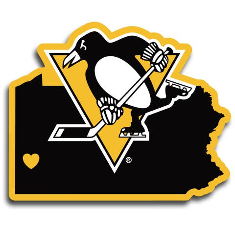 Pittsburgh Penguins Decal Home State Pride Style