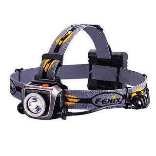Fenix HP15UE Ultimate Edition Headlamp - Gray- 900 Lumen