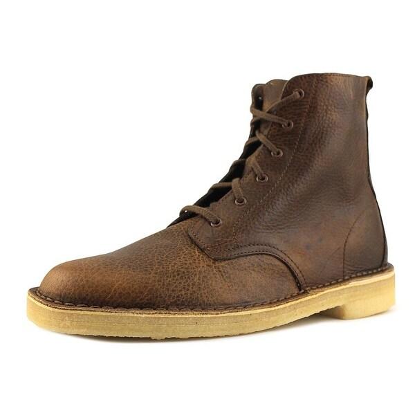 Clarks Originals Desert Mali Men Round Toe Leather Desert Boot