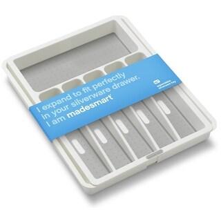 Madesmart 29308 Silverware Tray Expandable, White