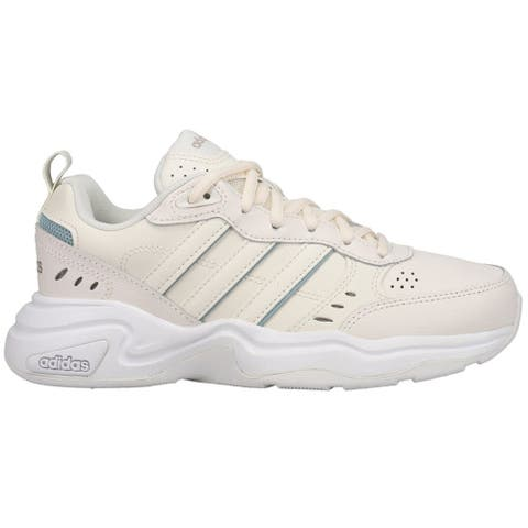 adidas Strutter Lace Up Womens Sneakers Shoes Casual - White